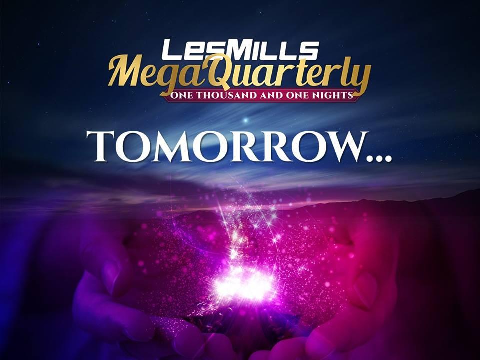 Les Mills Megakwartaal 2018: Morgen!