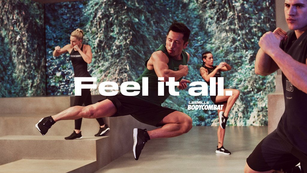 BODYCOMBAT - FEEL IT ALL